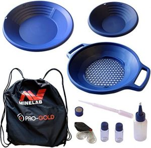 Minelab Pro-Gold Pans and Accessories Kit