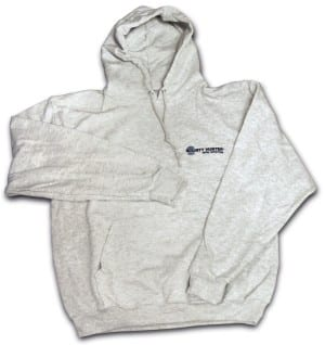 Bounty Hunter Hooded Sweatshirt (Gray)