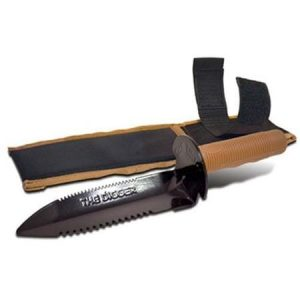 Bounty Hunter Digging Knife with Sheath