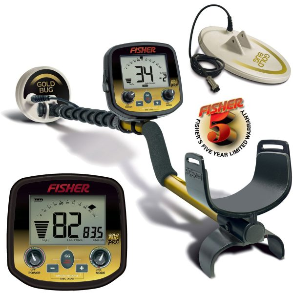 Fisher Gold Bug Pro Combo Package