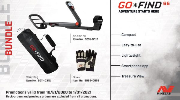 Minelab Go-Find 66 Holiday Promotions
